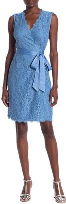 Diane von Furstenberg Juliana Lace Wrap Dress