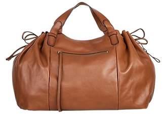 Gerard Darel Le Maxi GD Leather Shoulder Bag, Camel