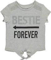 """Dream Star Little Girls' """"Bestie Forever"""" Top"""