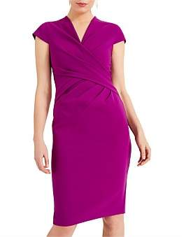 Phase Eight Rosetta Ruched Wrap Dress