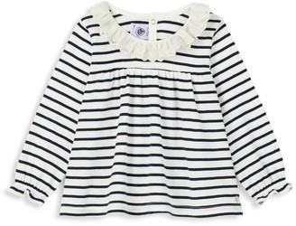 Petit Bateau Baby Girl's Striped Swing Tee