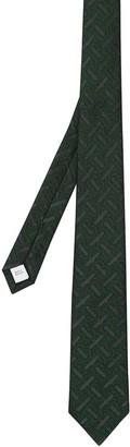 Burberry Logo-Jacquard Pointed Tie