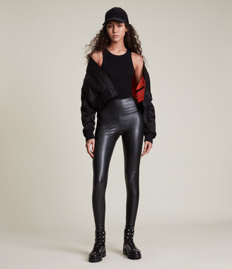 AllSaints Cora High-Rise Leggings