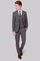 Moss Bros Skinny Fit Grey Tonic City Suit