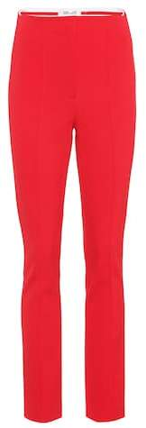 Diane von Furstenberg High-waisted skinny trousers