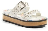 Alexander McQueen Women's Platform Slide Sandal