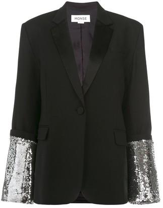 Monse sequin embellished blazer