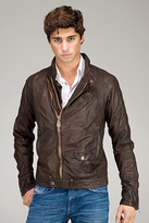 Limpid Brown Leather Jacket
