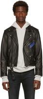 Enfants Riches Deprimes Black Porsche Crash Leather Jacket