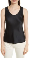 Vince Women's Bias Cut Silk Tank