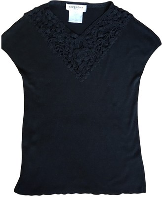 Givenchy Black Cashmere Tops