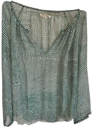 Etoile Isabel Marant Green Silk Tops