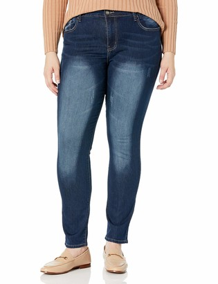 Cover Girl Women's Size Five Pocket Classic Wash Slim Fit Skinny