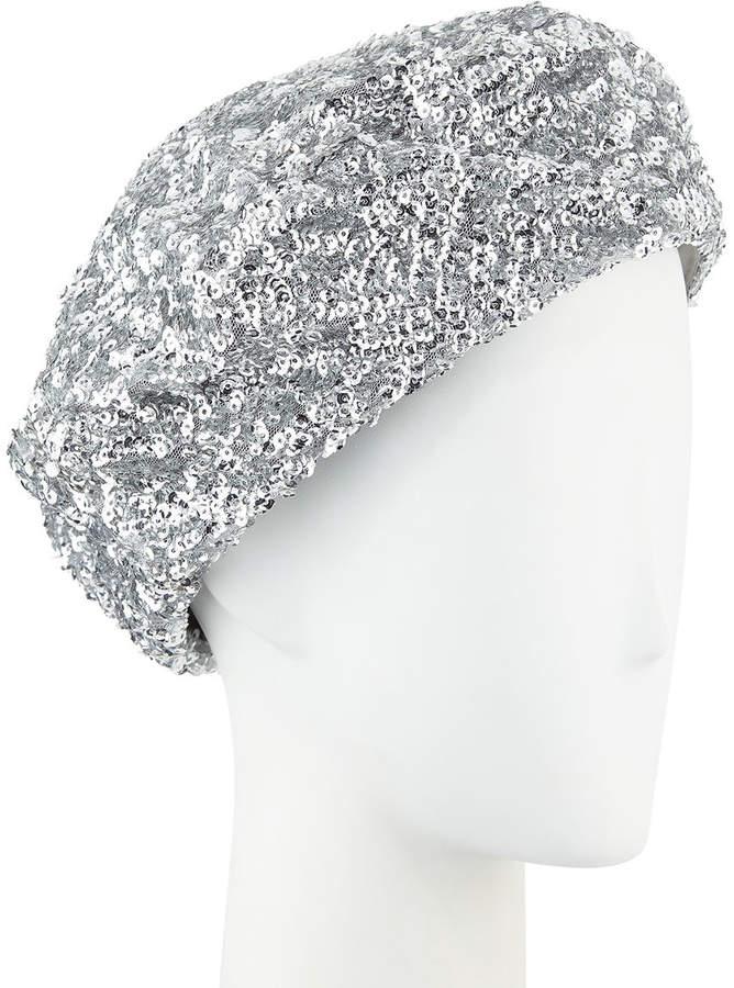 242e36fa2d44f Sequin Beret Hat - ShopStyle