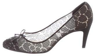 Chanel Tweed Cap-Toe Pumps
