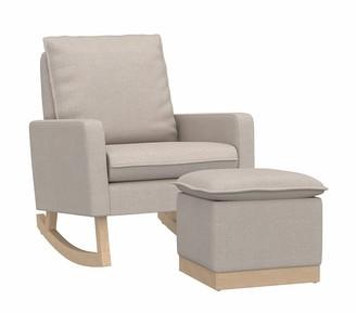 Pottery Barn Kids Paxton Rocking Chair & Ottoman