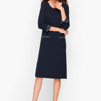 Talbots Cotton Knit Shift Dress