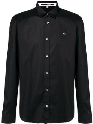 Mcq Swallow Swallow Patch Shirt