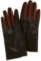 Karen Millen Contrast Leather Gloves