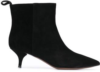 L'Autre Chose Kitten-Heel Ankle Boots