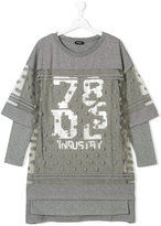 Diesel layered T-shirt dress