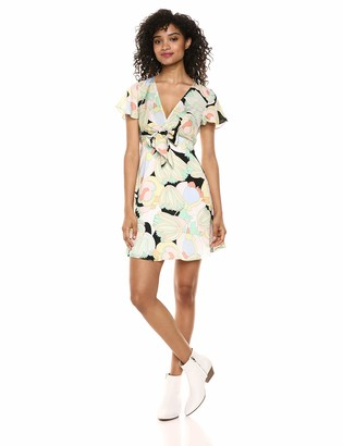 Bailey 44 Women's Daydream Floral Print Dress with Flouncy Sleeves