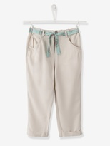Vertbaudet Loose-Fitting Cropped Trousers
