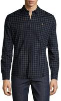 Farah Barcombe Printed Cotton Sportshirt