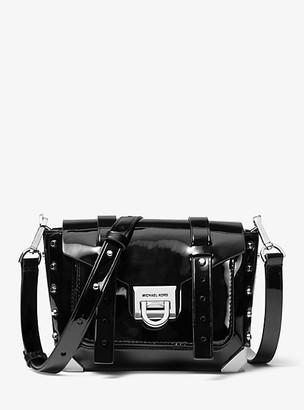 Michael Kors Manhattan Small Patent Leather Crossbody Bag