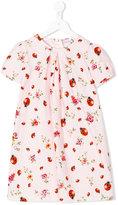 Dolce & Gabbana ladybug print dress - kids - Cotton/Viscose - 2 yrs