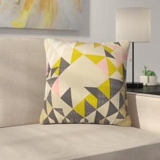 Carlton Indoor/Outdoor Throw Pillow Latitude Run Size: Small