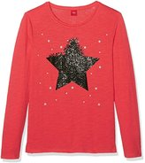 S'Oliver Girl's 66.708.31.7204 Long Sleeve Longsleeve T - Shirt,(Manufacturer Size: 170)
