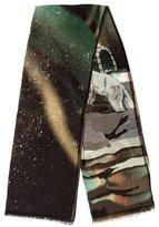 Etro Wool & Cashmere-Blend Scarf