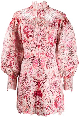 Zimmermann Azalea Ikat embroidered dress