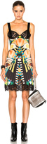 Givenchy Crazy Cleopatra Printed Silk Satin Dress