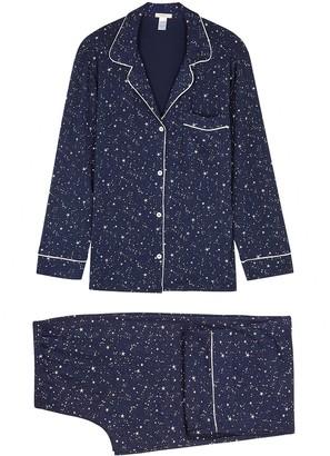 Eberjey Giselle star-print stretch-modal pyjama set