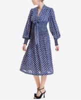 Max Studio London Smocked Printed Dress, Created for Macy's