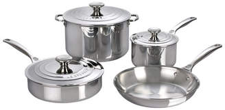 Le Creuset 7-Piece Stainless Steel Cookware Set