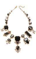 Noir Multi Drop Crystal Necklace