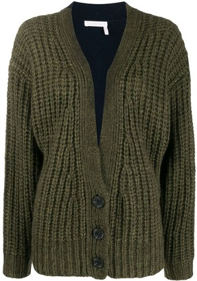 See by Chloe Colour Block Cardigan