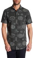 Globe Short Sleeve Print Standard Fit Shirt