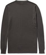 Rick Owens Biker Level Wool Sweater