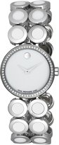 Movado Women's 606097 Ono Stainless Steel And Ceramic Bracelet Watch