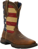 Durango Women's Western Boots BROWN - Brown & Red Lady Rebel Leather Cowboy Boot - Women