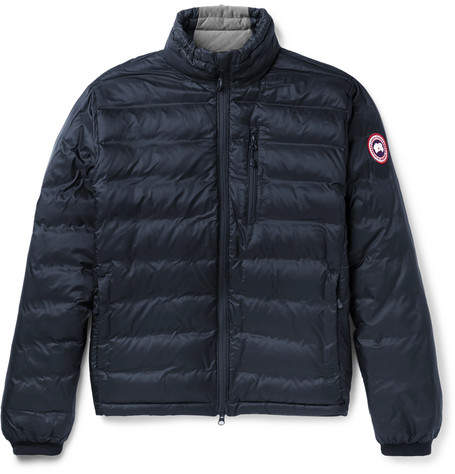 Canada Goose Lodge Packable Quilted Ripstop Down Jacket - Navy