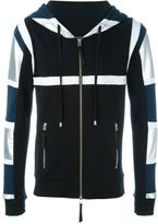 Unconditional 'Tribal Harness' zipped hoodie