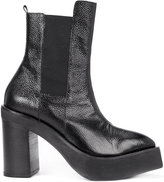 Yang Li platform mid-calf boots - women - Calf Leather/Leather/Spandex/Elastane/rubber - 40