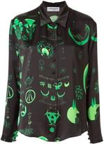 Marine Serre mystical print shirt