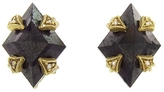 Cathy Waterman Black Diamond Stud Earrings