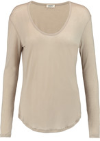 L'Agence Stretch-jersey top